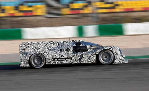 Porsche Reveals Powertrain Details of Le Mans Prototype, Gives Mark Webber Debut Test - Photo Gallery of Car News from Car and Driver - Car ...