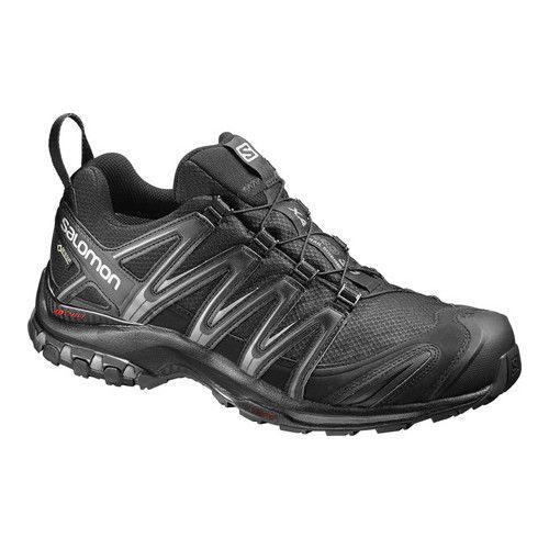 Hombre Salomon XA Pro 3D GORE-TEX – Negro / Negro / Senderismo con imán   – Zapatos addidas