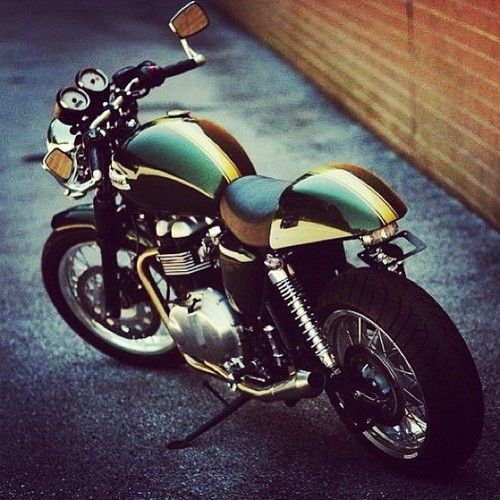 Triumph Thruxton. CLICK the PICTURE or check out my BLOG for more…