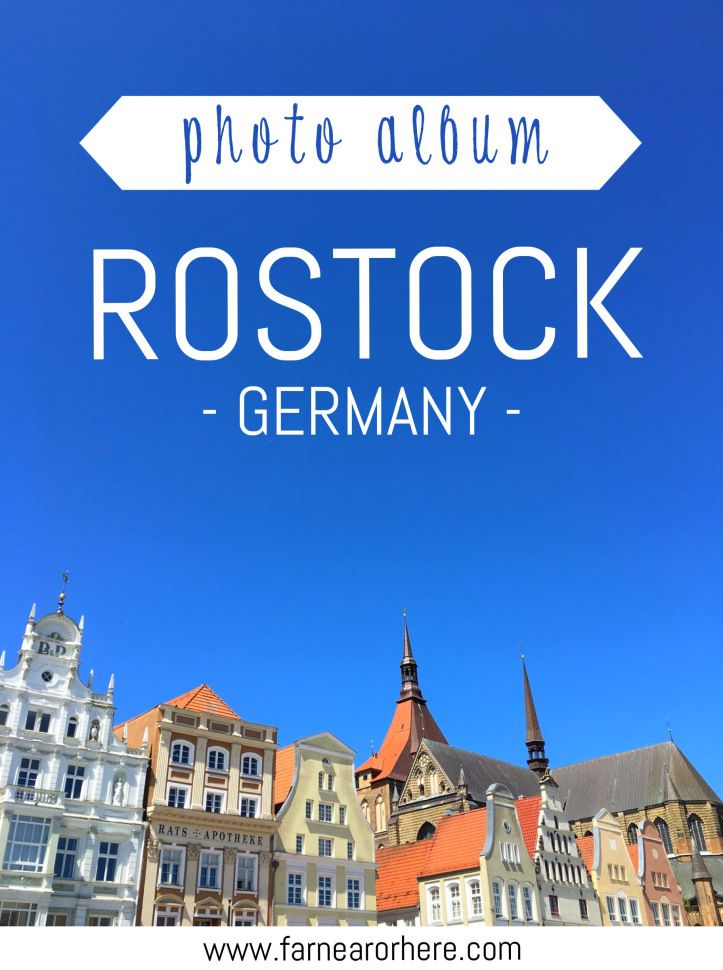 A photo album from Rostock in Germany's north.