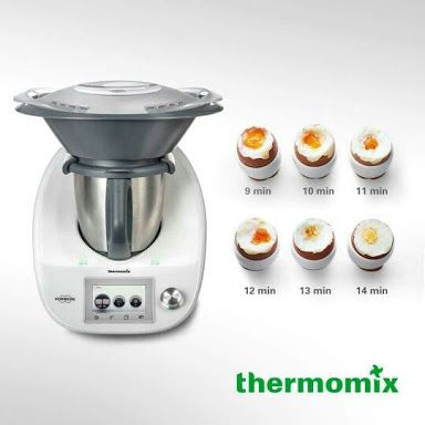 thermomix boiled egg chart - Google Search