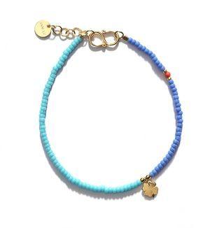 //ANNI LU LUCKY bracelet / blue