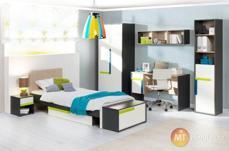 Sestava do dětského/studentského pokoje  Kids and student bedroom
