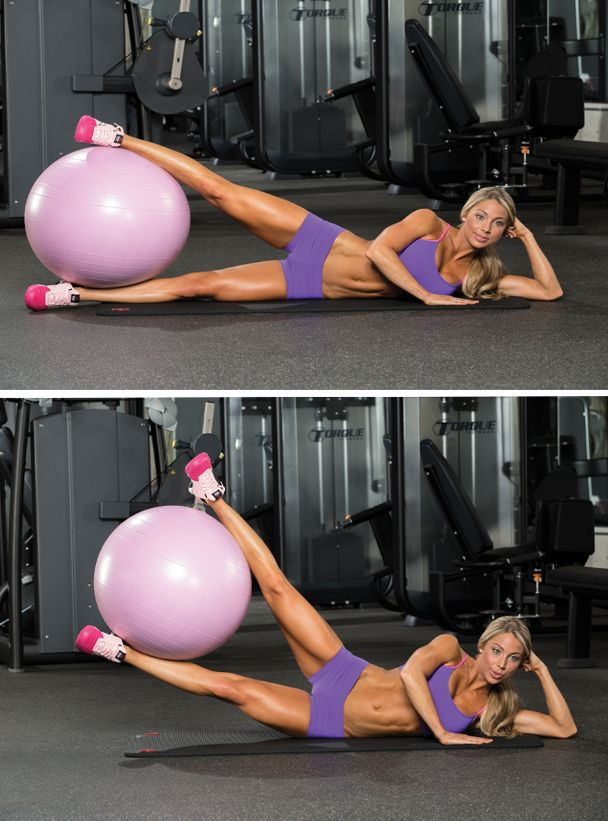Give your leg workout new dimension by training your thighs inside and out.