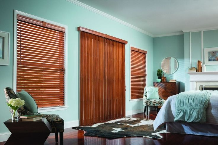 Vertical blinds are the contemporary version of our traditional window treatment. They hang on your windows and create a drape like feel and aura. The vertical feel along with operational smoothness makes the vertical blinds unique for any home windows. So, in this context; we came up with 3½ inches Wood Vertical Elite Blinds from Graber. The wooden look along with majestic feeling is the element of this blind to make them special in the field of window treatment.