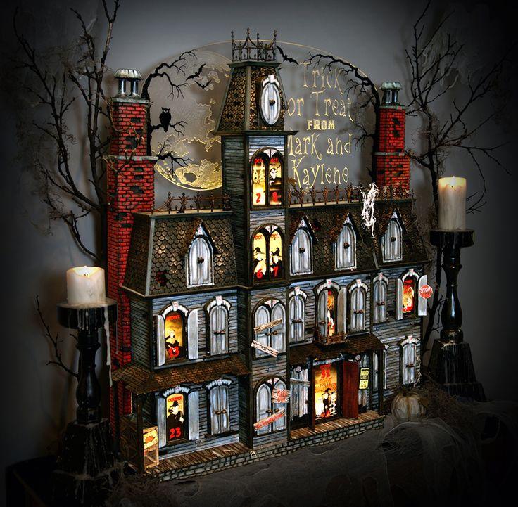 Advent Calendar Ideas Inside : Halloween advent house ideas Хэллоуин pinterest