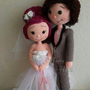 Амигуруми жених и невеста схемы