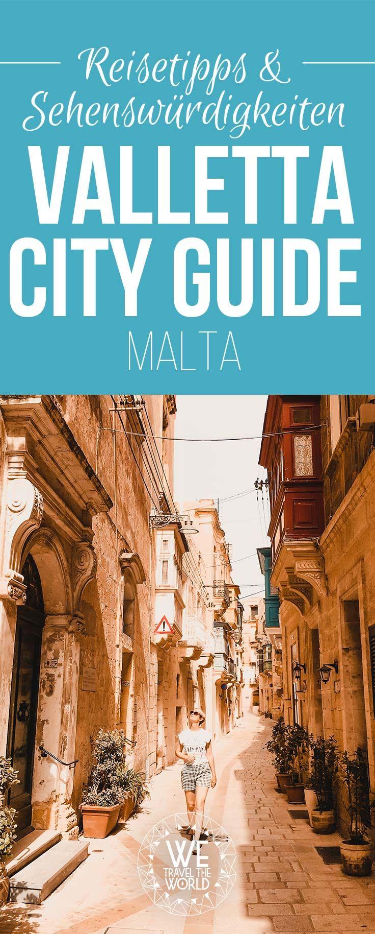 Unser Valletta City Guide ist da! Du planst einen Malta Urlaub? Dann findest du hier alles was du für deinen Valletta Städtetrip wissen musst. #städtereise #cityguide #kurzurlaub #reisetipps #städtereise
