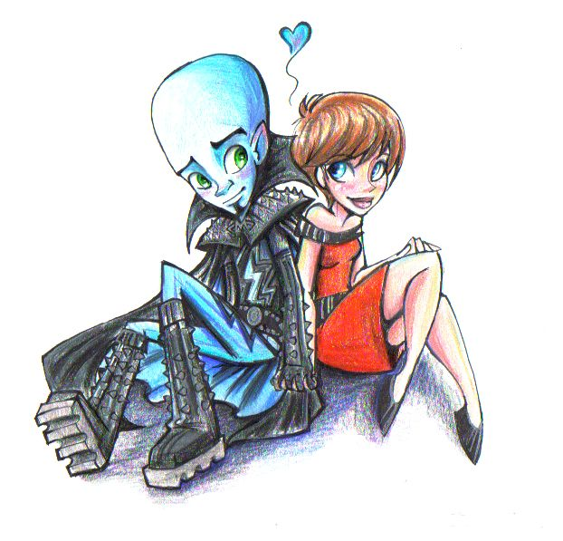 Megamind & Roxanne by Rachel Sharp [©2012]