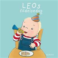 Favorit för de yngsta!Leo fyller år! Ballonger och serpentiner. Roliga födelsedagskort. Saft och kaka. Spännande presenter. Kanske är det en bil i ett av paketen Läs mer om Leo i Leo vill ha mat, Leo ska sova, Leo klär på sig, Leo badar, Leo kladdar och kluddar, Leo från topp till tå, Leos sångbok, Leo går till doktorn samt Leo på pottan.