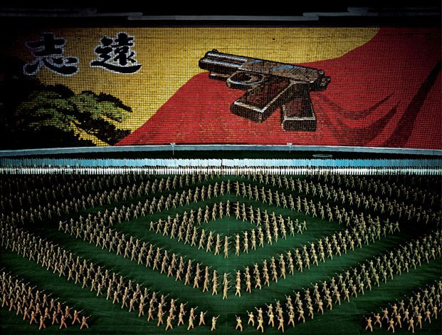 Andreas Gursky - Pyongyang II, Diptychon, 2007