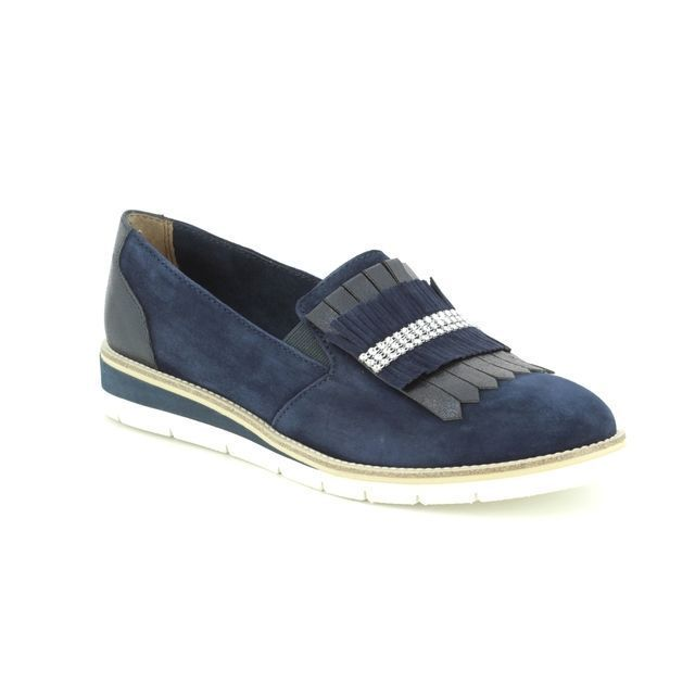 34eda8d6d4e6d Tamaris Loafers - Navy - 24305/22/890 KELFRINGE | women s loafers in 2019 |  Shoes, Loafers, Loafers for women