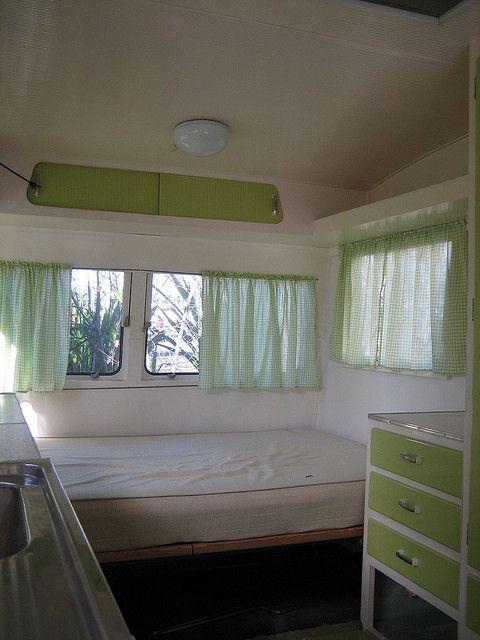 caravan interior pre renovation by MCA good vibrations, via Flickr