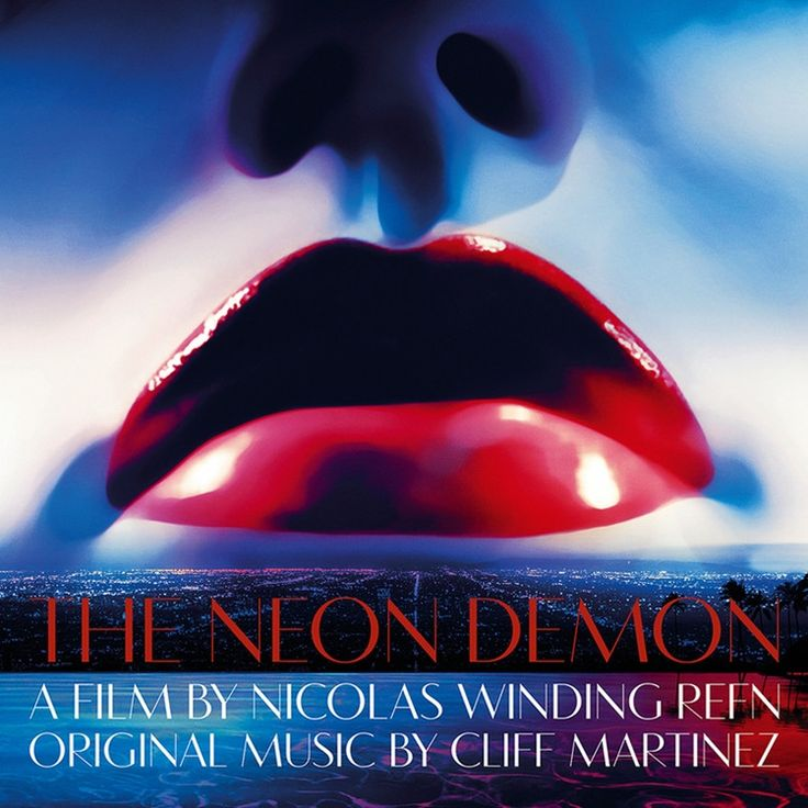 Cliff Martinez The Neon Demon: Original Motion Picture Soundtrack on Colored 180g 2LP + Download