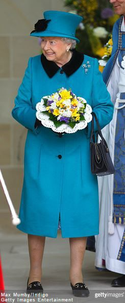Queen Elizabeth, April 2, 2015 in Angela Kelly | Royal Hats Posted on April 2, 2015 by HatQueen....Queen Elizabeth and the Duke of Edinburgh attended Royal Maundy Service at Sheffield Cathedral this morning.