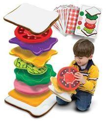 empile le sandwich id es cadeaux pour f tes d 39 enfants pinterest new girl le sandwich et. Black Bedroom Furniture Sets. Home Design Ideas