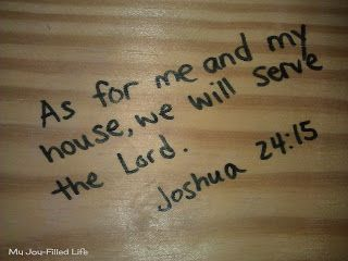 I had a friend who wrote scriptures above every door and window frame in their new house as they were building it....even scripture on the floor as you cross the threshhold of their front door....truly a house built on the word of God! It almost made me cry when I saw what she had done. This is one of my most favorite ideas ever!!!!