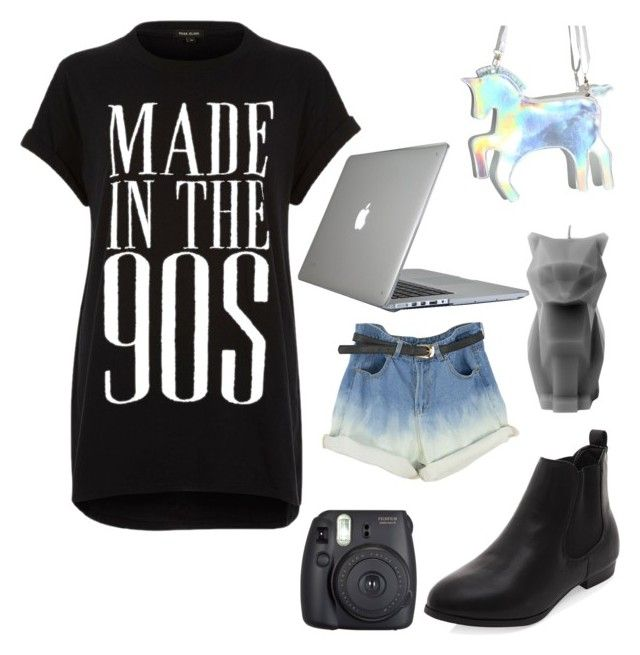 Made In The 90's(Jemma's 7 Day Challenge :Day #4) by forestfauna on Polyvore featuring River Island, Speck, Fuji and jemmas