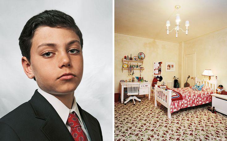 Onde as crianças dormem - Jamie, 9 anos mora com seus pais, irmão gêmeo e sua irmã em um apartamento na Quinta Avenida em Nova Iorque. Jamie frequenta uma escola de prestígio e é um bom aluno. Em seu tempo livre, ele faz aulas de judô e natação. Quando crescer, quer se tornar um advogado como seu pai.