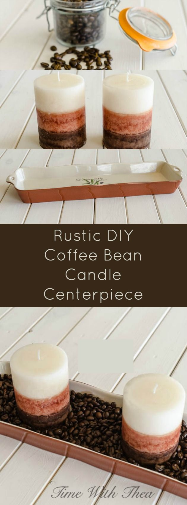 Coffee Bean Candle Centerpiece : Best ideas about coffee bean candle on pinterest