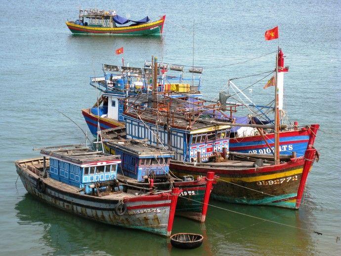 Le port de Dong Hoi