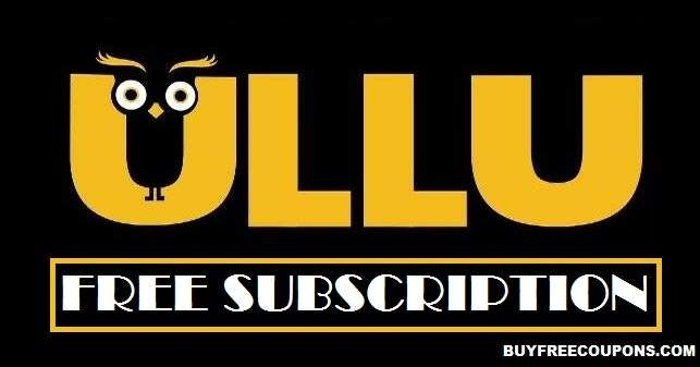 Ullu App Free Subscription Redeem Codes March 2020 In 2020