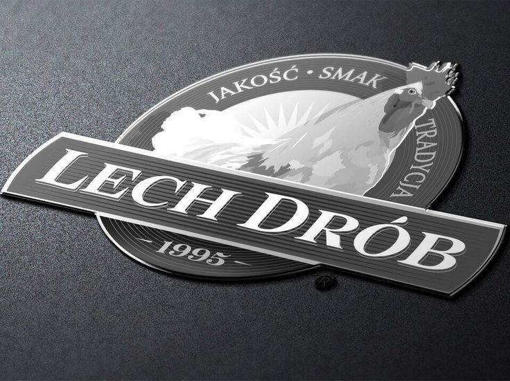 Koncepcja logo Lech Drób. #marketing #reklama #logo