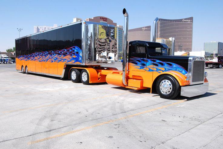 Custom Big Trucks   Custom, Truck & Trailer, 18wheeler, big rig, custom truck, truck