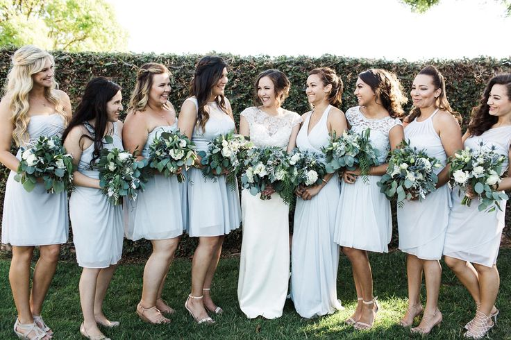 Greenery bouquets create a perfect swag of fresh style by Camellia Wedding Flowers  http://www.sandiegowedding.com/blog/greenery-bouquets-create-a-perfect-swag-of-fresh-style-by-camellia-wedding-flowers/2017/9/1