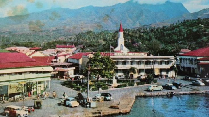 An Adelaide couple sorting their mail last week discovered a postcard from Tahiti postmarked 1966.