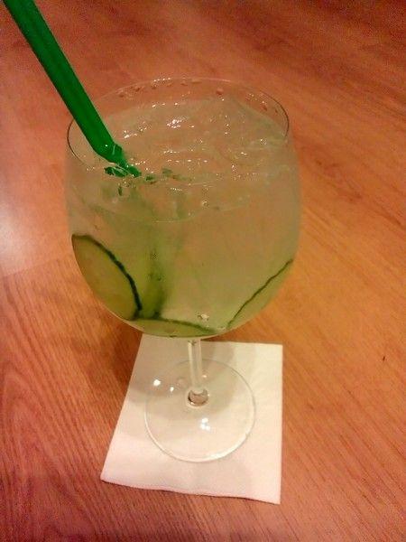 204. Uborka a Gin Tonicban - KOKTÉL BLOG