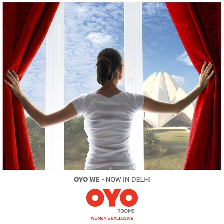 Time for all solo women travellers to rejoice!! #OYOWE - India's first women exclusive hotel now in #Delhi.   Happy Travelling!!