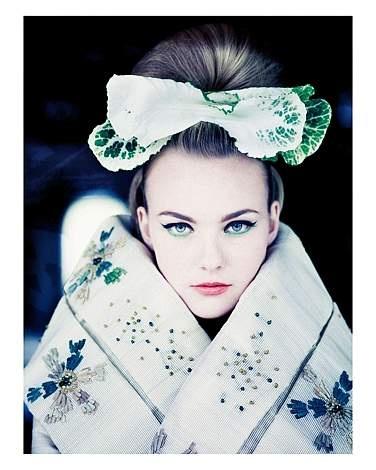 Brian Duffy Asian inspired fashion