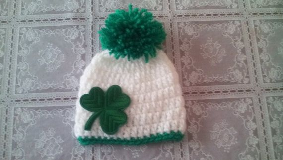Check out this item in my Etsy shop https://www.etsy.com/uk/listing/243572312/st-patrick-day-hat-crochet-boy-hat