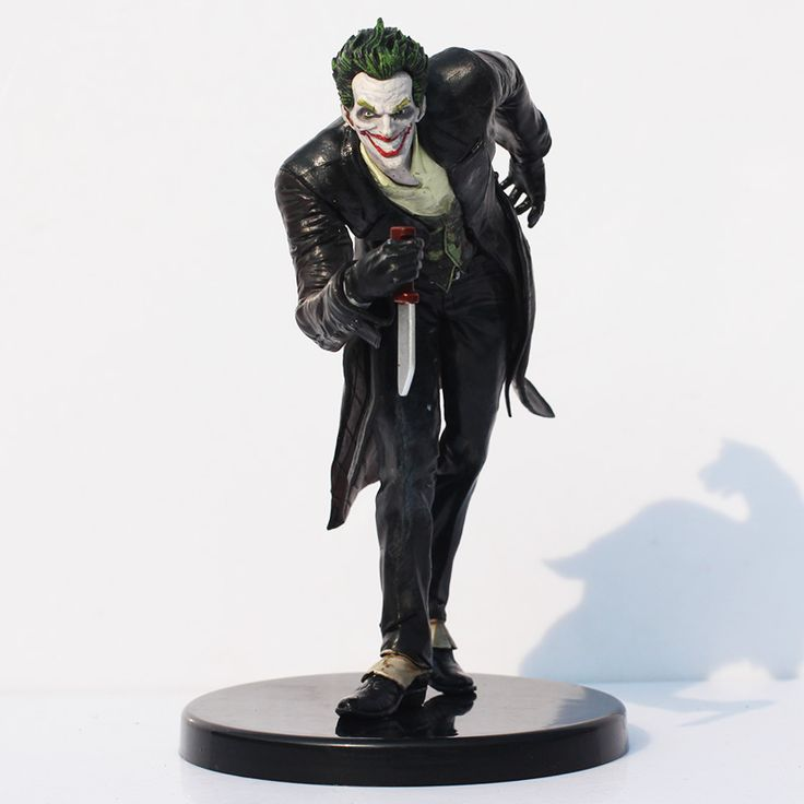 "Gratis Pengiriman DC Batman The Joker PVC Action Figure Collection Model Toy 6 ""14 cm"
