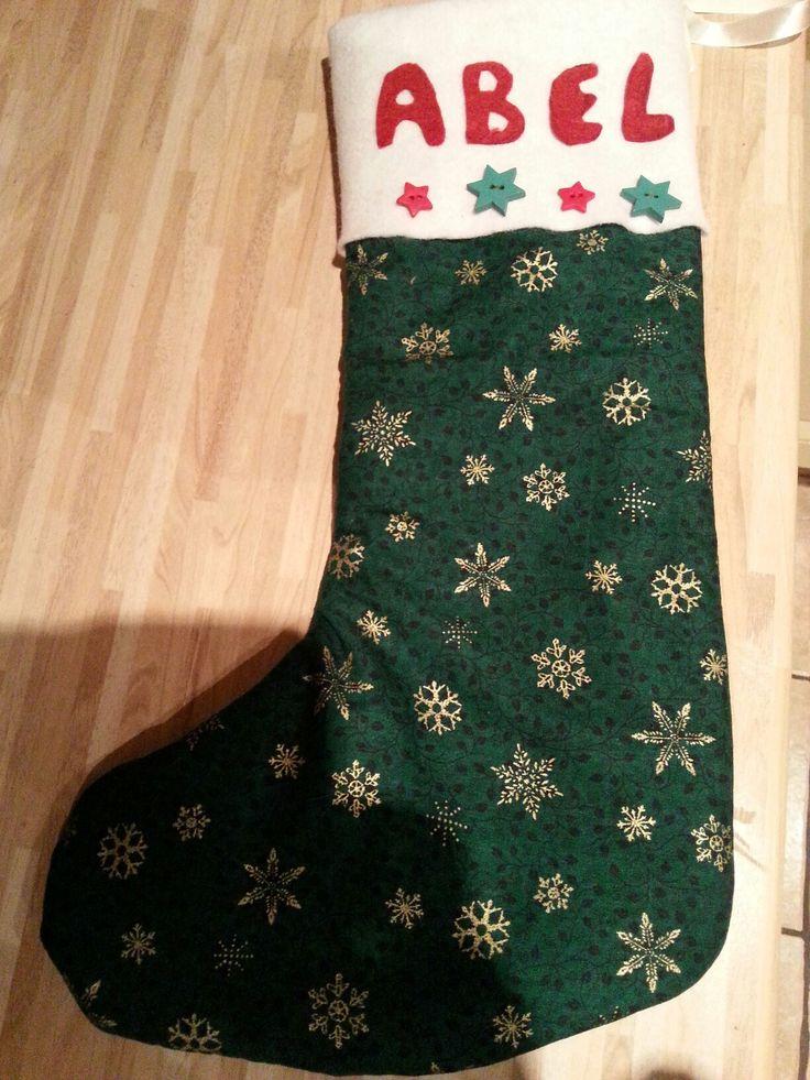 Abels santa stocking