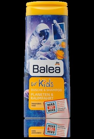 Косметика по уходу Balea гель для душа и волос детский 300 мл