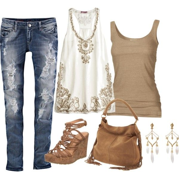 Casual Outfit: Shoes, A Mini-Saia Jeans, Casual Summer, Jeans Outfits, Tanks Tops, Summer Outfits, Casual Outfits, Summer Fun, Spring Outfits