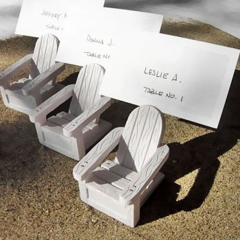 Mini Adirondack Chair Place Card Holders