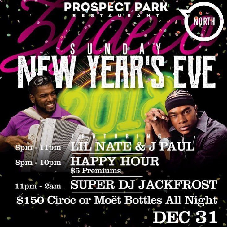 Plan You #NewYearsEve With Us! We have our two Zydeco Favorites - LIVE  Then DJ Jackfrost Up After  We Have $150 bottle specials for Moët Rose or Any Ciroc Bottle  ! Ticket link is in our bio and below:  https://www.eventbrite.com/e/new-years-eve-at-prospect-park-willowbrook-tickets-41124472404?aff=efbeventtix  #pokernight #thirstythursday #happyhour #tacos #tequila #tacosandtequila #patron #houston #houstonrestaurant #houstonsportsbar #sportsbar #waitress #happyhour #houstonhappyhour