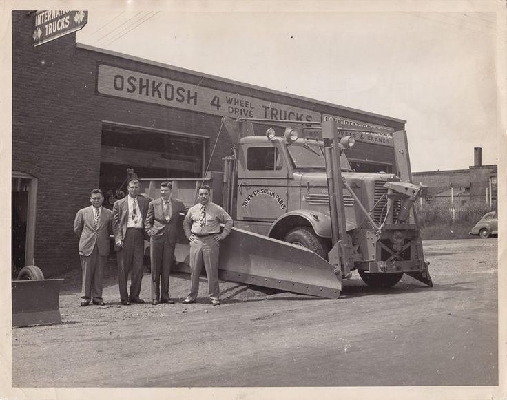 1948 Oshkosh Snow Plows Autos Post
