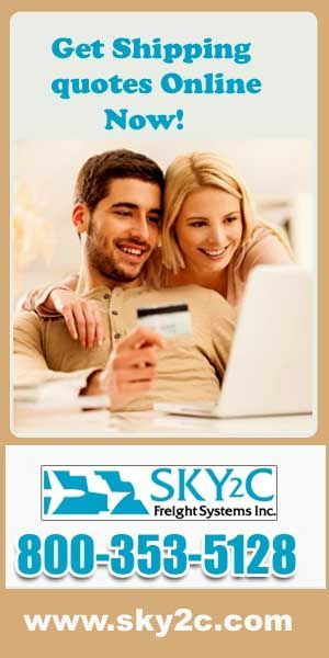 Get free quotes of overseas shipping online now... log on to sky2c.com and compare quotes online.