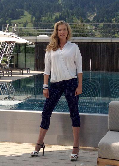 Hotel Schwarzer Adler - Foto-Shooting mit Supermodel Tatjana Patitz