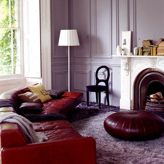 Tailored Living Room Featuring The Poltrona Frau Esedra