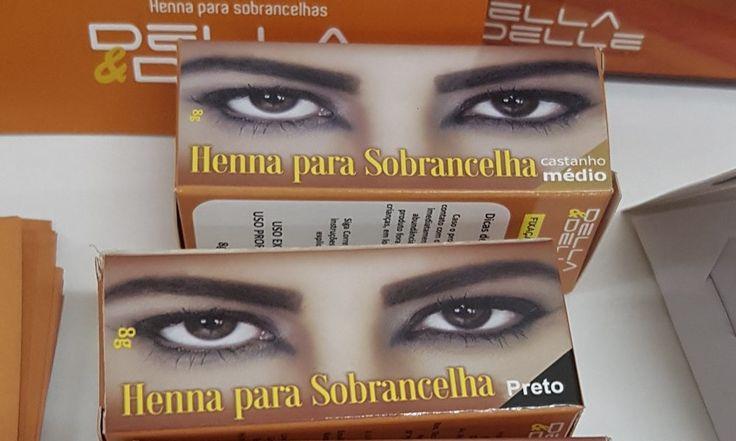 - Della & Delle - Henna para sobrancelhasJaqueline Fernandes