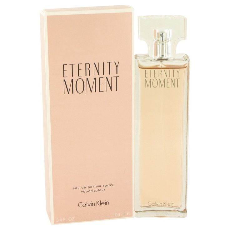 New #Fragrance #Perfume #Scent on #Sale  Eternity Moment by Calvin Klein 3.4 oz EDP Spray - Eternity Moment, by the design house of Calvin Klein was introduced in 2004 as a fun, flirty fragrance for women. Luxurious, and senseous this feminine scent is a dazzling oriental, floral aroma. A romantic blend of Asian fruits with subtle undertones of musk and raspberry.. Buy now at http://www.yourhotperfume.com/eternity-moment-by-calvin-klein-eau-de-parfum-spray-3-4-oz-for-women.html