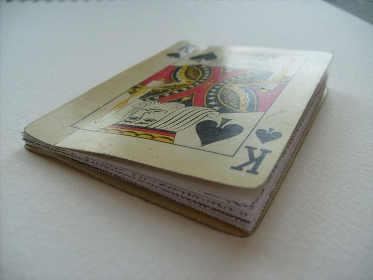 Playing Card Pocket Diary