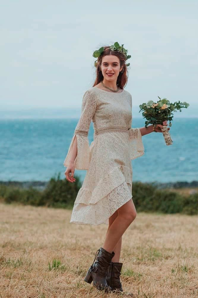 Exquisite Short Wedding Dresses For The Big Day Vintage Short Dress Modern Short Wedding Dress Short Wedding Dress,Plus Size Wedding Dresses Cheap With Sleeves