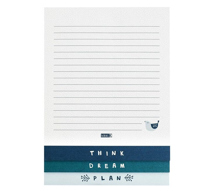 Life is made for thinking, dreaming and planning, so do just that with this unique tiered notepad. Use the list pages to write down ideas and goals, then map out each day with tasks and priorities using the planner pages.