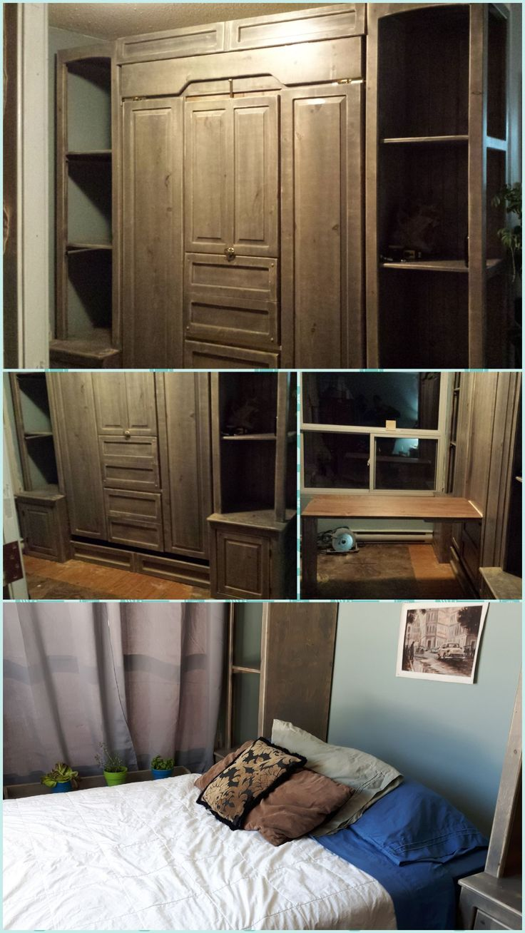 Murphy Bed With Maple Table Insert Without Traditional